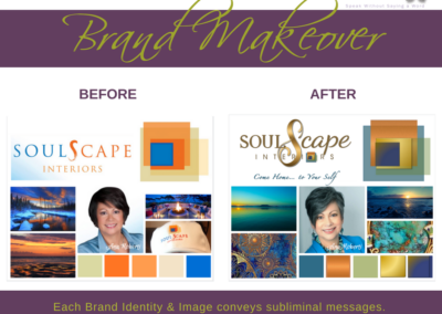 Brand Makeover ~ SoulScape Interiors Inc