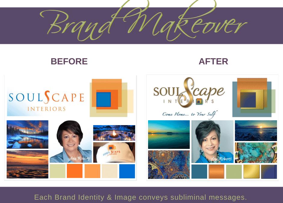 Brand Makeover ~ SoulScape Interiors Inc