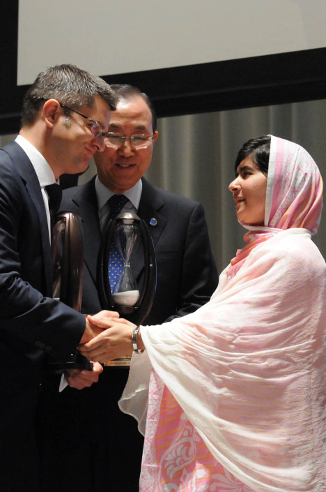 Malala Day at the UN.