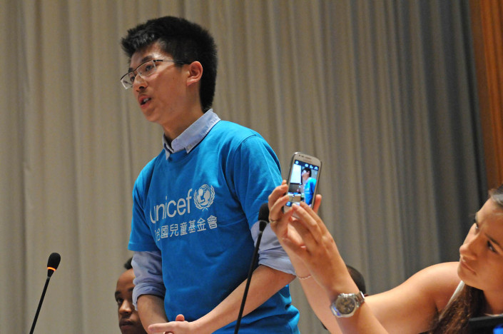 Hong Kong Delegate Harrison Chung