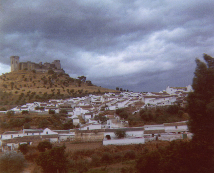 En-route from Seville to Cordoba, Spain, 1974. I suppose taking a photo with a Kodak 104 Instamatic from a moving train did not necessarily make for a sharp picture!