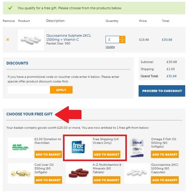 Zipvit Discount Code - Screenshot #3 Free Delivery
