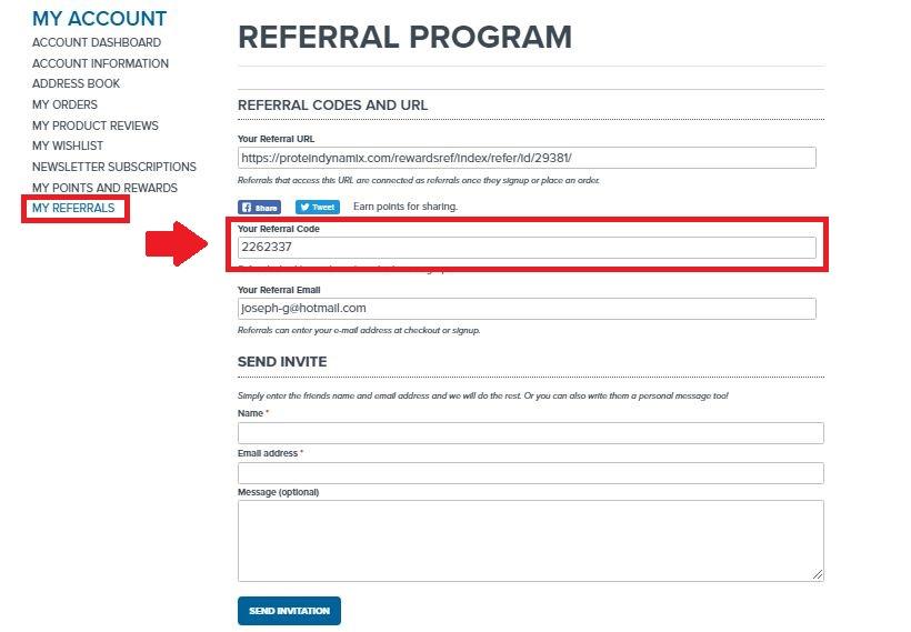 Protein Dynamix Discount Code - Screenshot #3 (Protein Dynamix Referral Code)