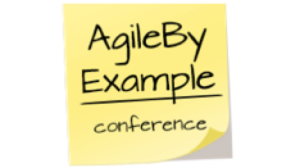 Agile by example logo
