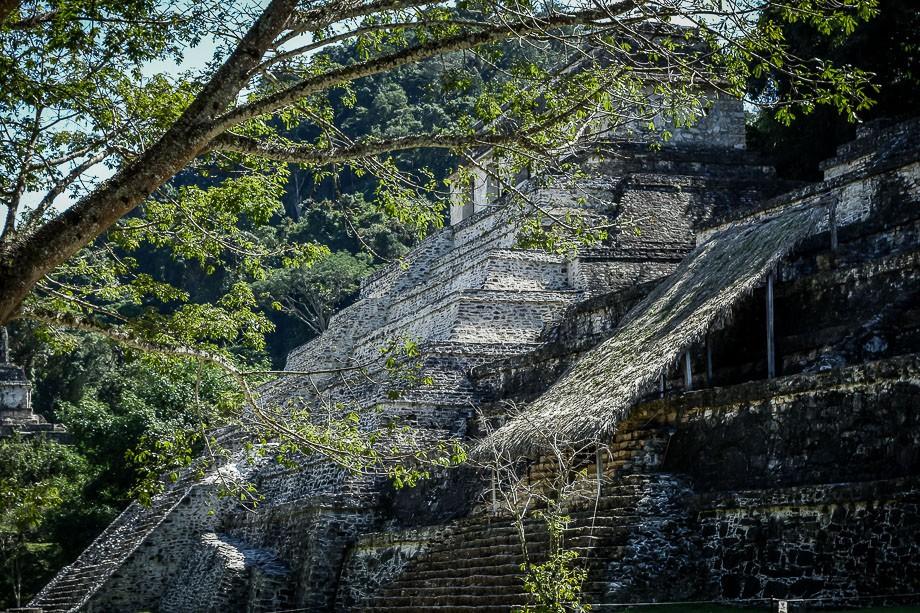 mexico-palenque art mayan ruins