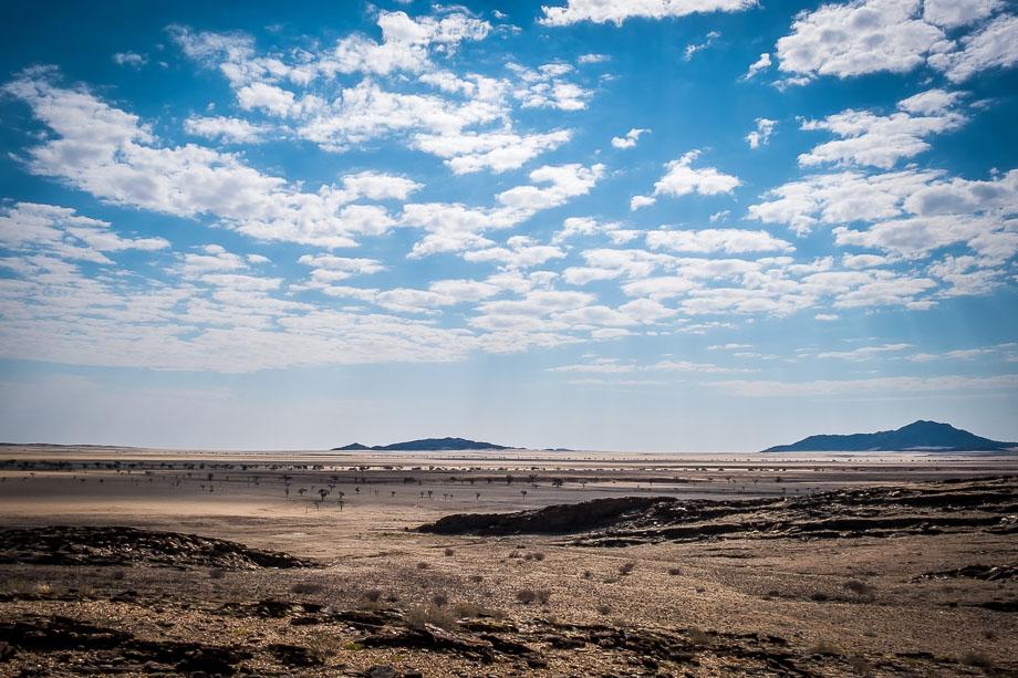 Namibia road trip landscape