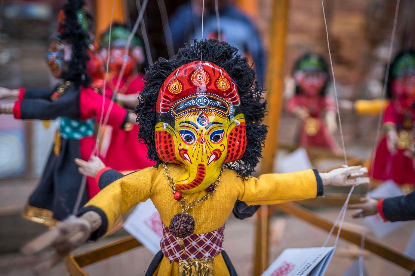 puppet Bhaktapur