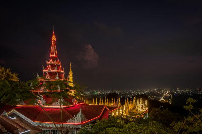 View of Mandalay from Mandalay Hill