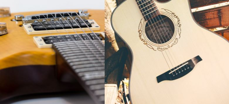 5 Differences Between Acoustic and Electric Guitar
