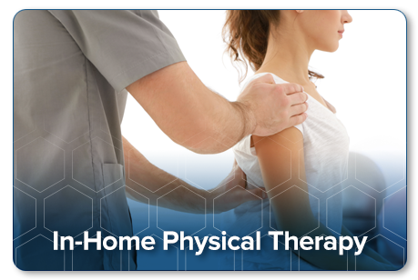 In-Home Physical therapy offered by Precise Physical Therapy