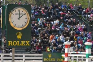 The famous Rolex Clock