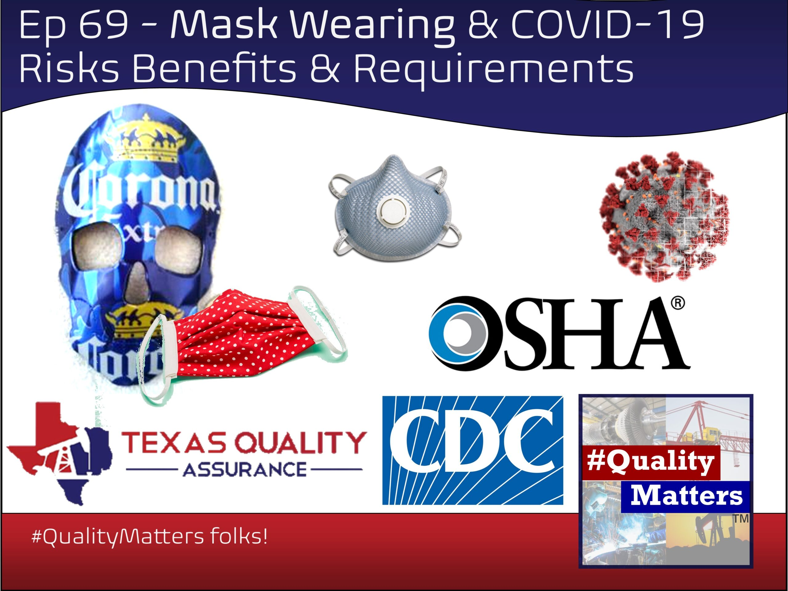 Ep 69 – Mask Wearing & COVID-19 – Risks, Benefits & Requirements