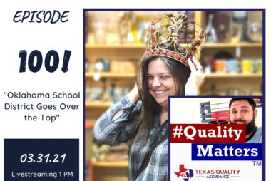 #QualityMatters Episode 100