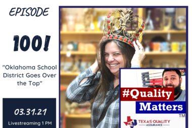 #QualityMatters Episode 100