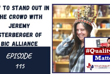 Ep 115 - How to stand out in the crowd with Jeremy Osterberger of BIC Alliance