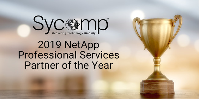 Sycomp Named NetApp Professional Services Partner of the Year