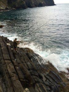 Fishing in Riomaggiore, Italy - Step Back in Time in Cinque Terre