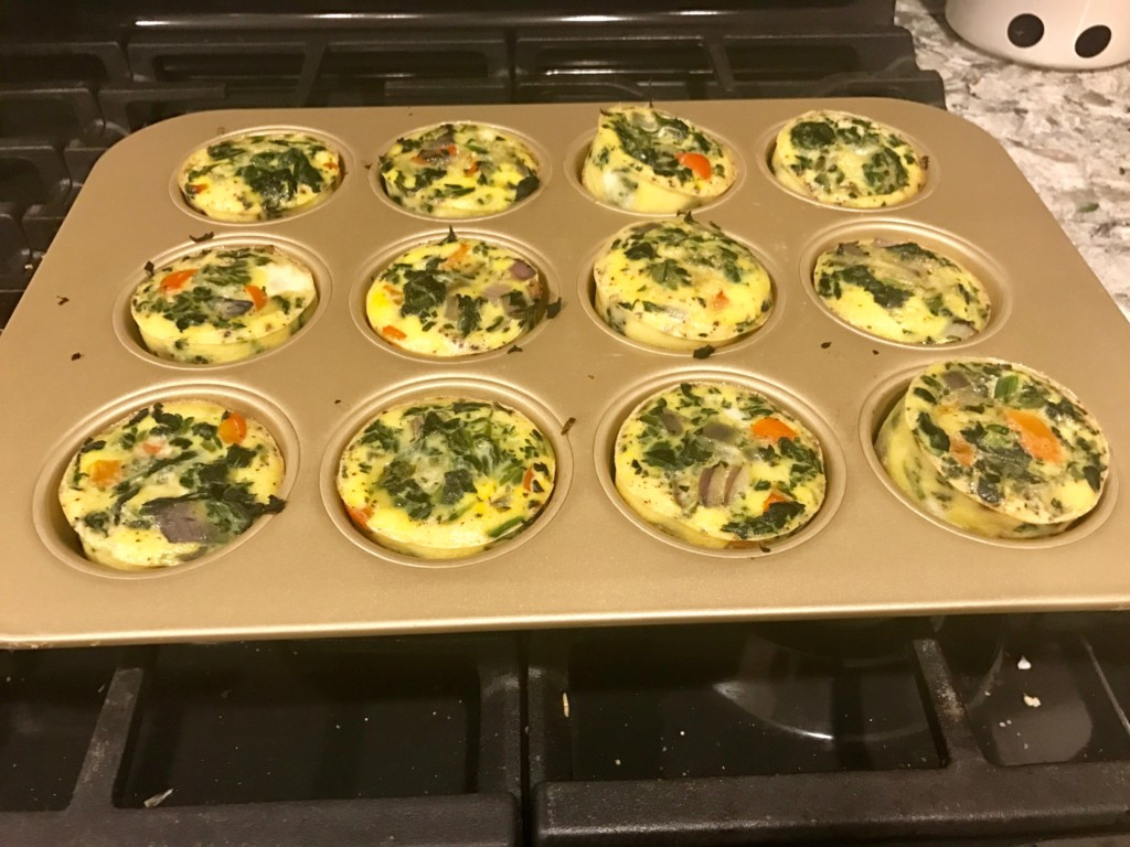 Make Ahead Egg Baked Muffins perfect for a healthy breakfast!