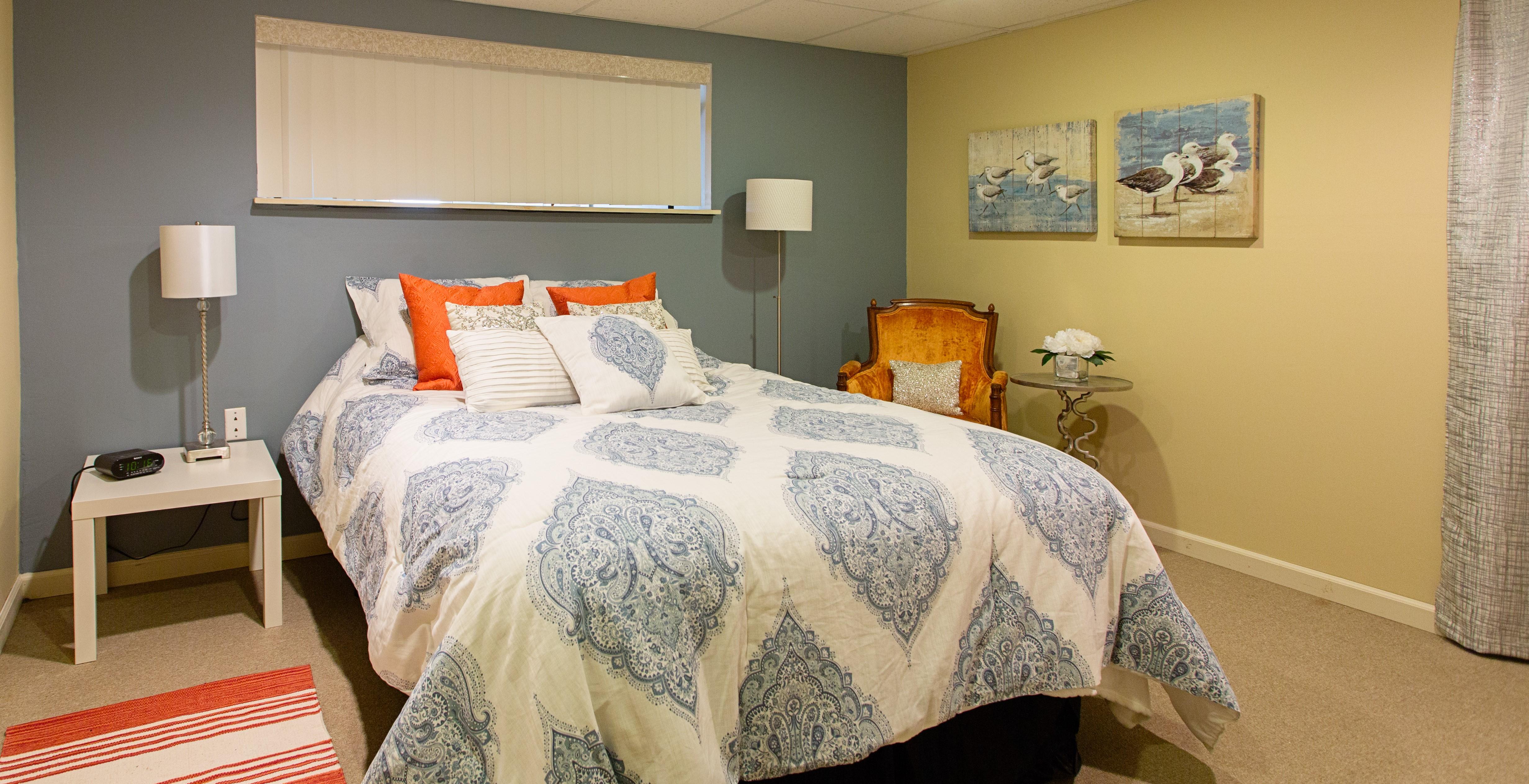 ASR, Glastonbury, Basement Update, Renovation, Guest Bedroom