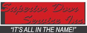 Superior Door Service Logo