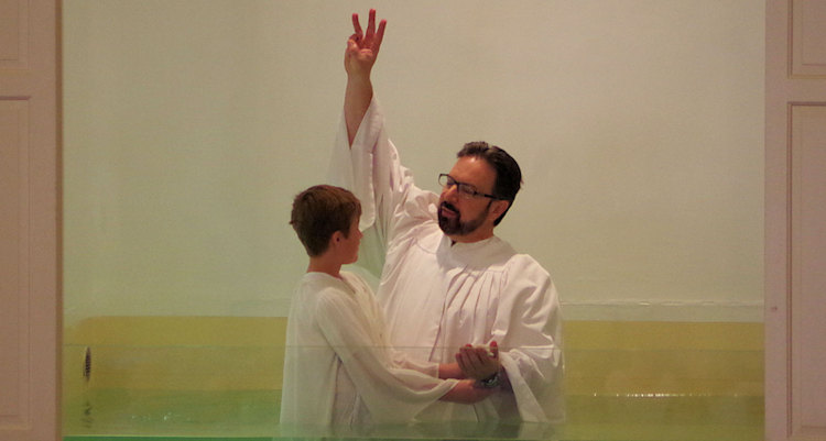 Baptism at College Park, Michael Usey