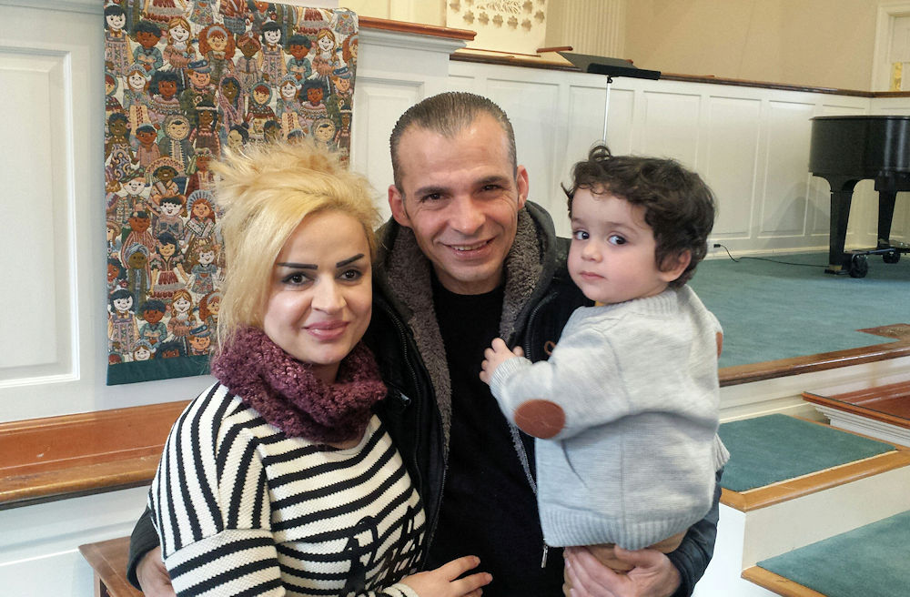 Syrian Refugee Family Greensboro