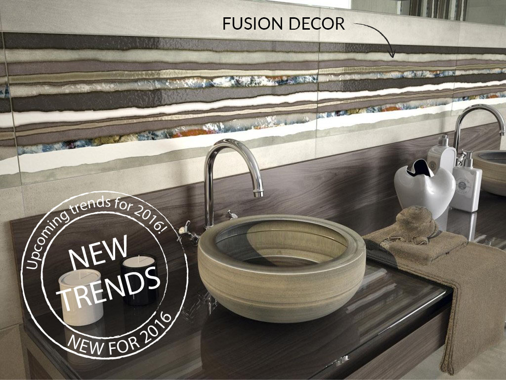 The Fusion Decor Tile - A new trend for 2016!