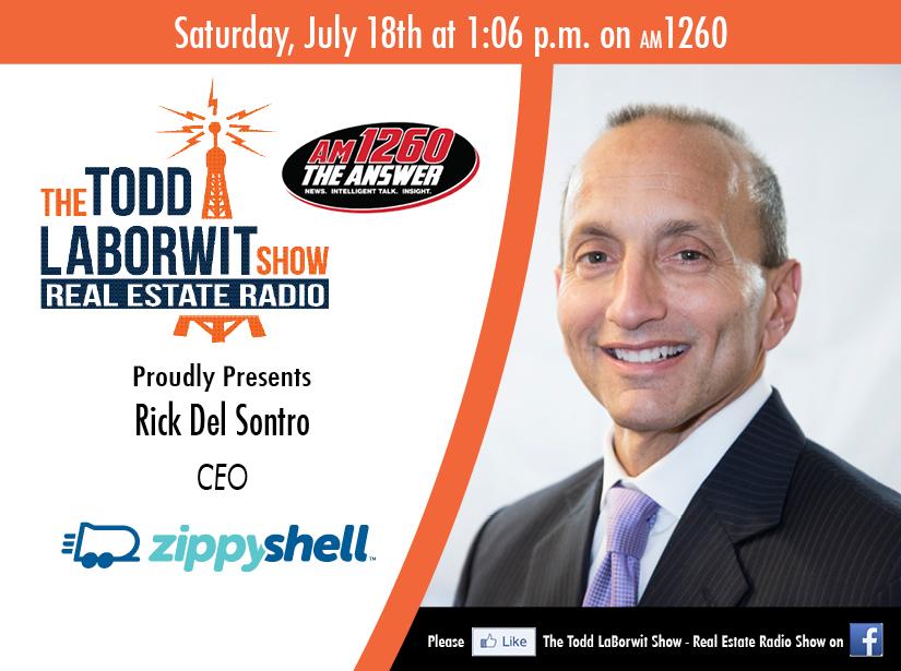 Rick Del Sontro, CEO of Zippy Shell