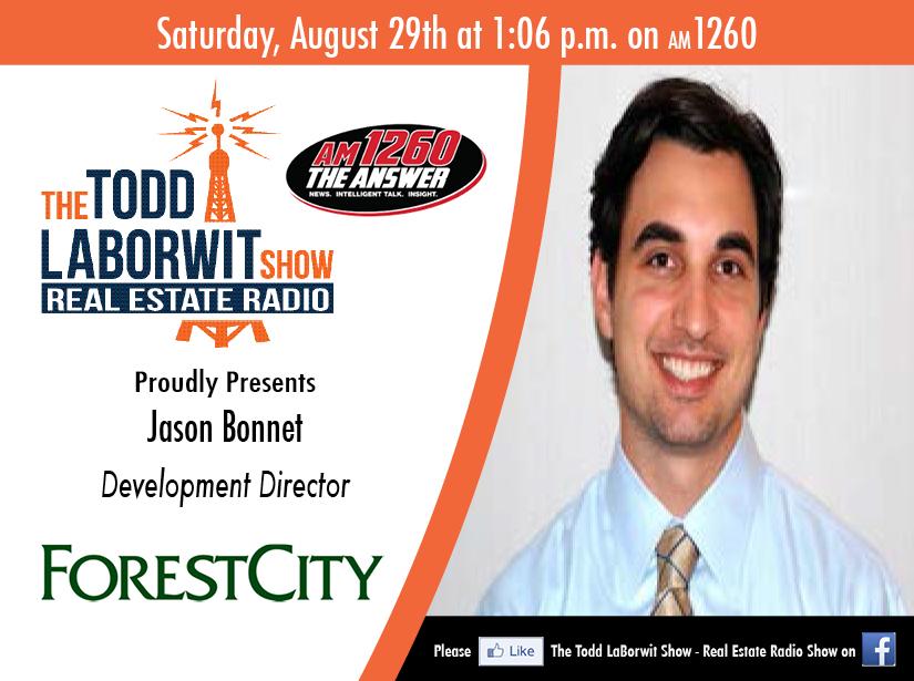 Jason Bonnet, Development Director with Forest City