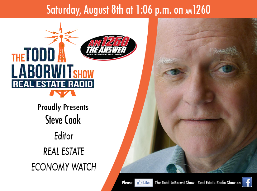 Steve Cook, Editor with Real Estate Economy Watch