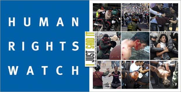 HRW consigue violaciones sistemáticas de derechos humanos en Venezuela | iJustSaidIt