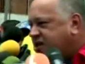 Diosdado Cabello mintiendo. Dice que en Venezuela no hay disturbios   iJustSaidIt.com