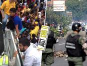 Protestas en Venezuela no pararán de luchar hasta que Maduro salga del poder   iJustSaidIt.com
