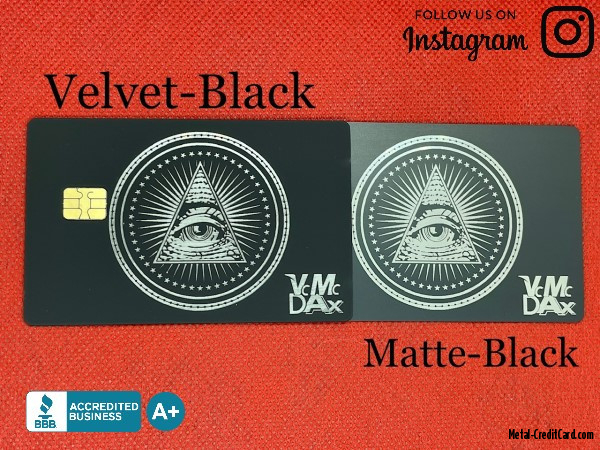 Custom-Illuminati-Velvet-Black-Metal-Credit-Card-2021