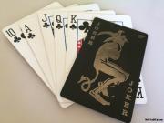 Joker Playing card metal debit credit card