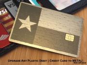 metal credit card texas