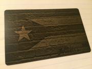 Custom Black Metal Credit Card Puerto Rico