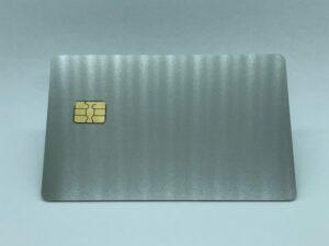 matte stainless steel metal card
