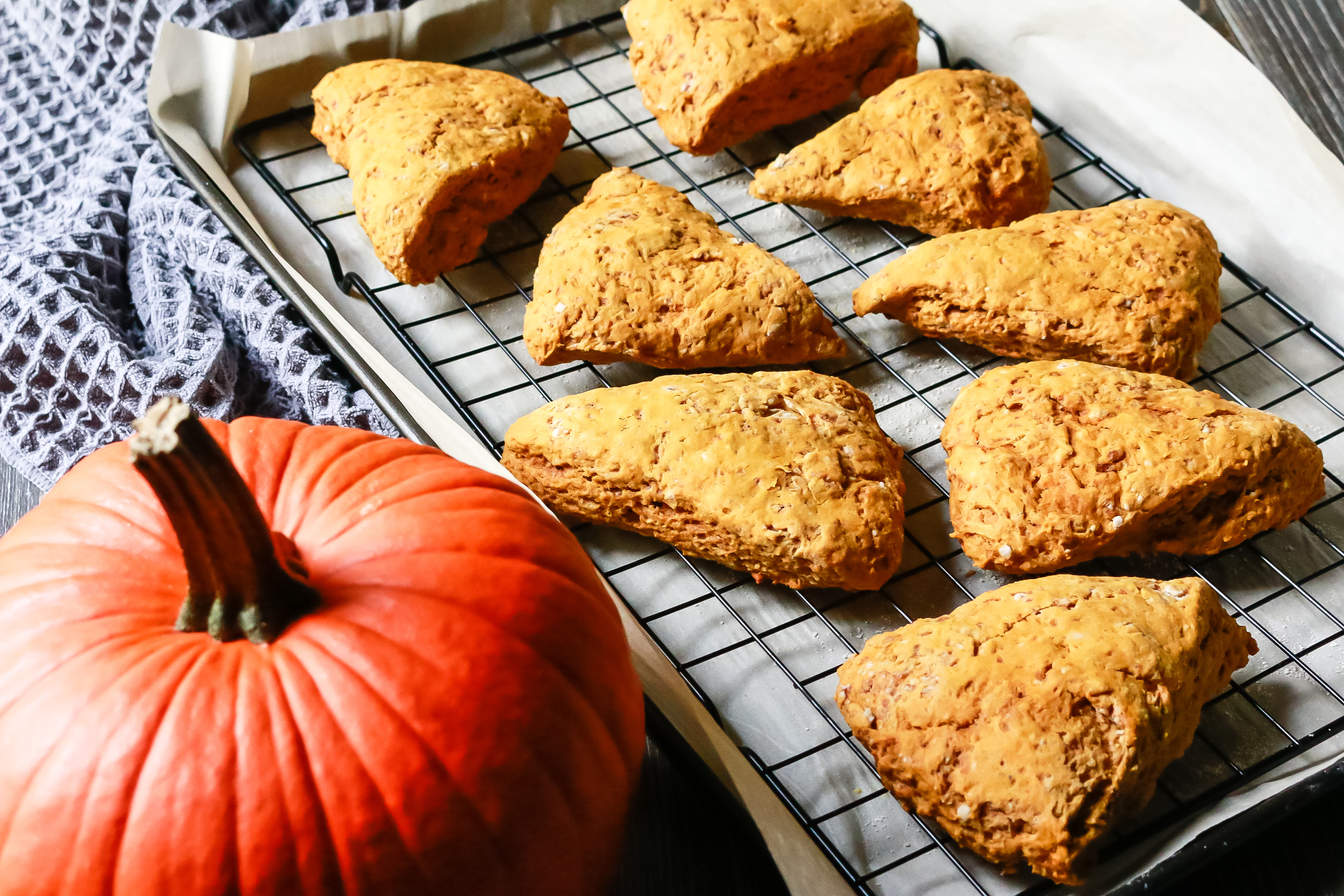 vegan pumpkin scones
