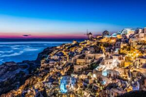 Color A - 3rd Place Ruben Rodriguez Santorini Blue Hour