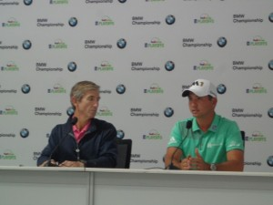 DSC05282 PGA Tour rep DougMilne and Jason Day