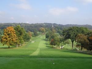 DSC03186 Pittsburgh Field Club 1st hole DS