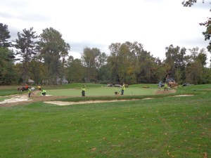 DSC03191 Rolling Green 4th hole work for 2016 WAM DS