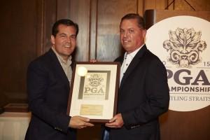 Jim Richerson with Derek Sprague PGA