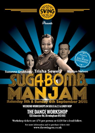Suga Bomb & Man Jam leaflet
