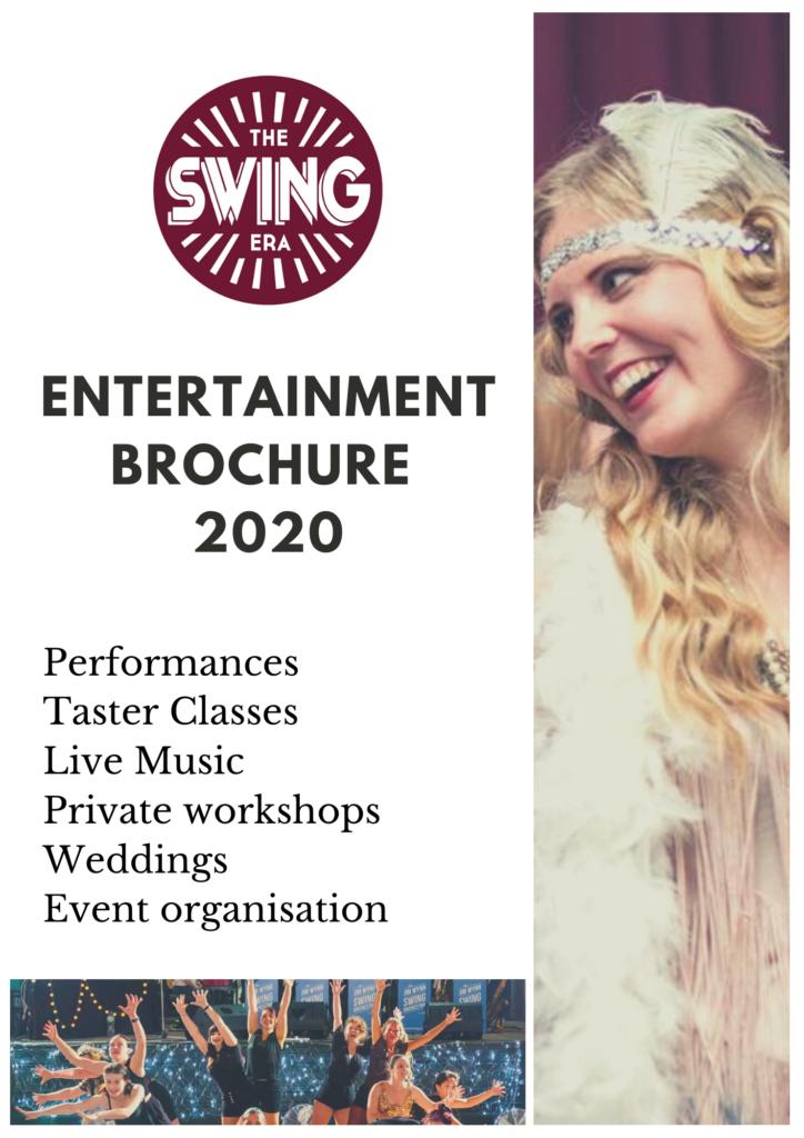 Entertainment Brochure The Swing Era 2020