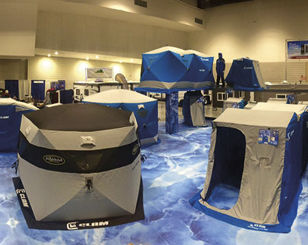 CLAM – Outdoor Ice Shelters / Large Format – Flooring