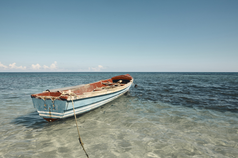 Jamaica Fishing Boat