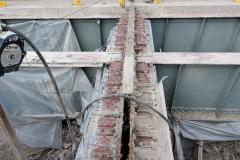 January 2021 - Expansion dam repair.