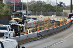 October 2019 - The contractor is rebuilding the median of the U.S. 1/Roosevelt Expressway viaduct in North Philadelphia before shifting work to the southbound side next year.